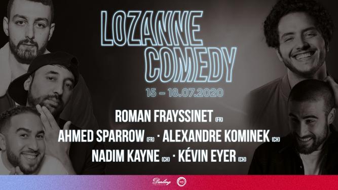 Lozanne Comedy Darling Club Lausanne Billets