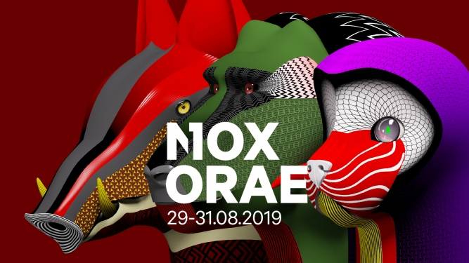 Nox Orae 2019 Pass Festival 3 jours Jardin Roussy La Tour-de-Peilz Biglietti