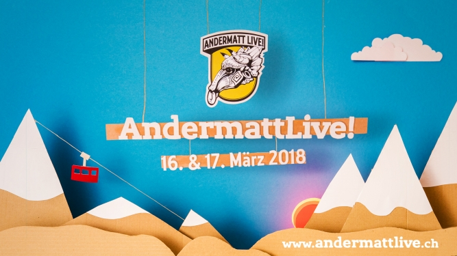 Musikfestival AndermattLive! Aula / The Chedi / Bernhard Andermatt Tickets