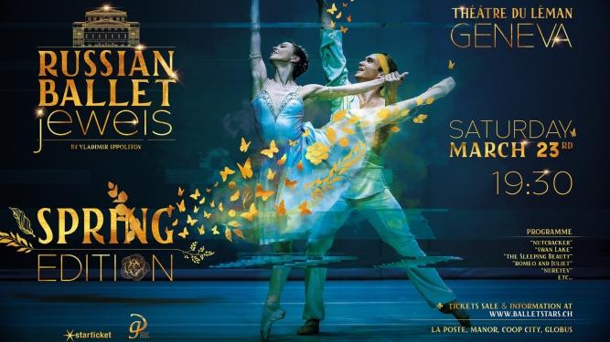 Russian Ballet Jewels Théâtre du Léman Genève Billets