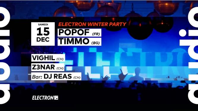 Electron Winter Party Audio Club Genève Billets