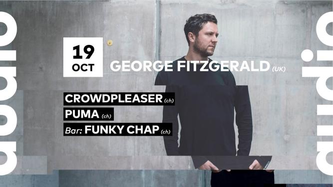 George Fitzgerald Audio Club Genève Billets