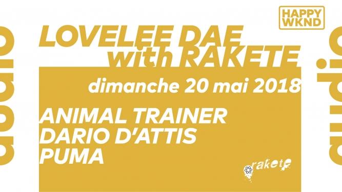 Lovelee Dae with Rakete // Animal Trainer - Dario D'Attis - Puma Audio Club Genève Billets