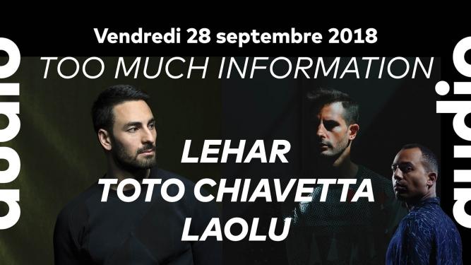Too Much Information: Audio Club Genève Billets