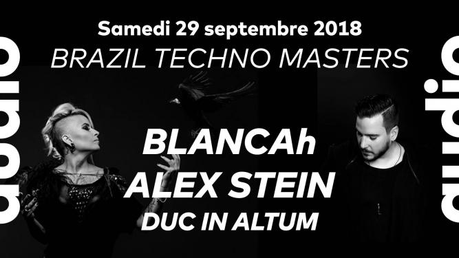 Brazil Techno Masters Audio Club Genève Billets