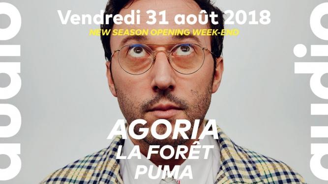 Agoria - La Forêt - Puma Audio Club Genève Billets