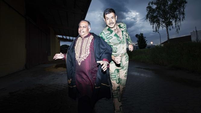 Ashraf Sharif Khan & Viktor Marek Bad Bonn Düdingen Biglietti