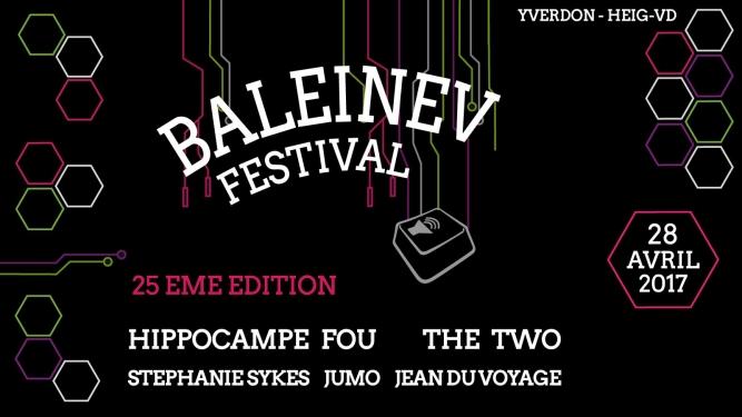 Baleinev Festival 2017 (HEIG-VD) Yverdon-les-Bains Tickets