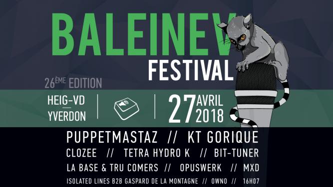 Baleinev Festival 2018 (HEIG-VD) Yverdon-les-Bains Tickets