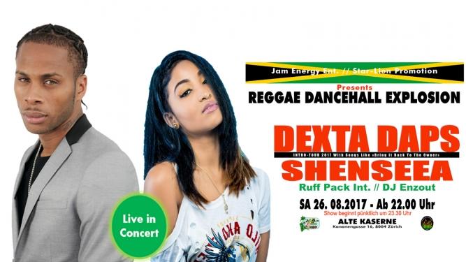 Reggae Dancehall Explosion Alte Kaserne Zürich Tickets