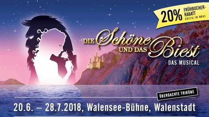 Die Schöne und das Biest Walensee - Bühne Walenstadt Tickets