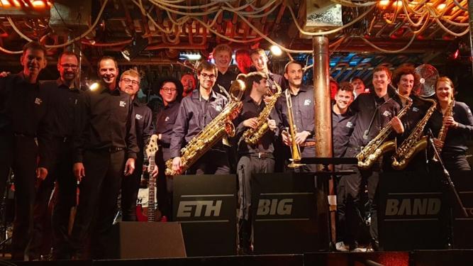 ETH Big Band Plattentaufe Musikklub Mehrspur Zürich Biglietti