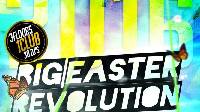 Big Easter Revolution Komplex 457 Zürich Tickets