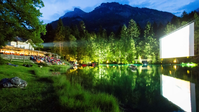 20. Kino Open-Air Blausee 2017 Naturpark Blausee Blausee Tickets