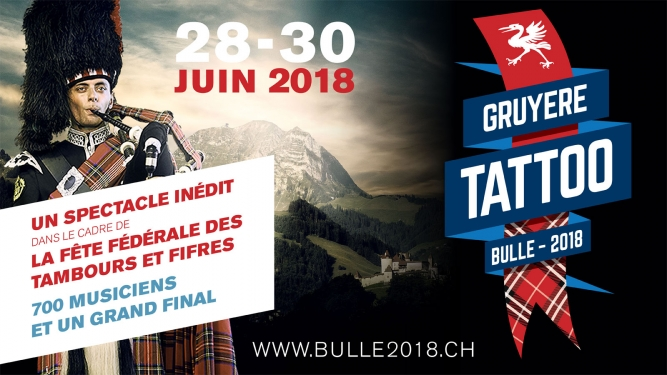 Gruyère Tattoo Centre ville de Bulle Bulle Tickets