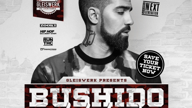Bushido Gleiswerk die Eventfabrik Thun Tickets