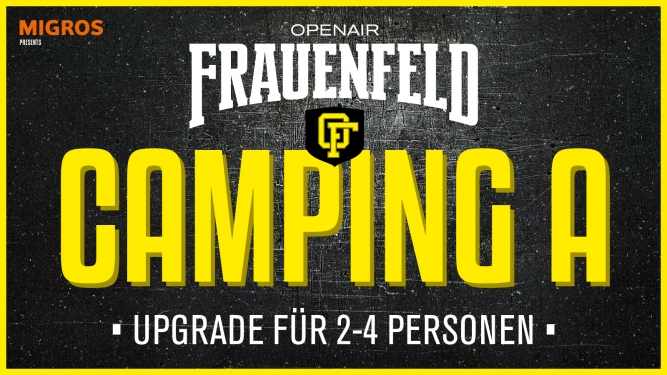 Camping A Upgrade Grosse Allmend Frauenfeld Tickets