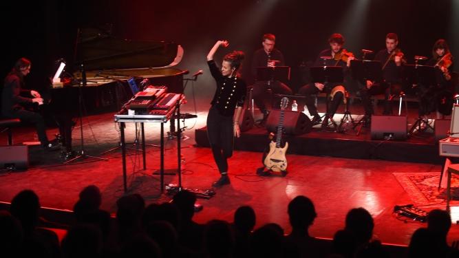 Phanee de Pool avec orchestre de chambre Case à Chocs Neuchâtel Biglietti