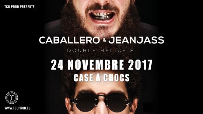 Concert de Caballero & JeanJass Case à Chocs Neuchâtel Billets
