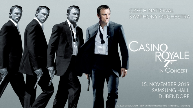 Casino Royale in Concert Samsung Hall Zürich Dübendorf Tickets