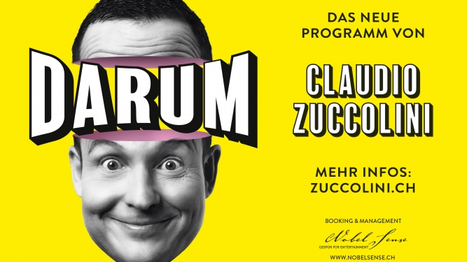 Claudio Zuccolini Theater Fauteuil, Tabourettli Basel Tickets