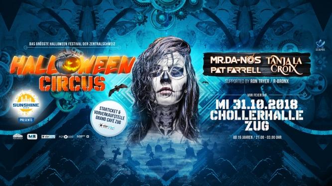 Halloween Circus Chollerhalle Zug Tickets