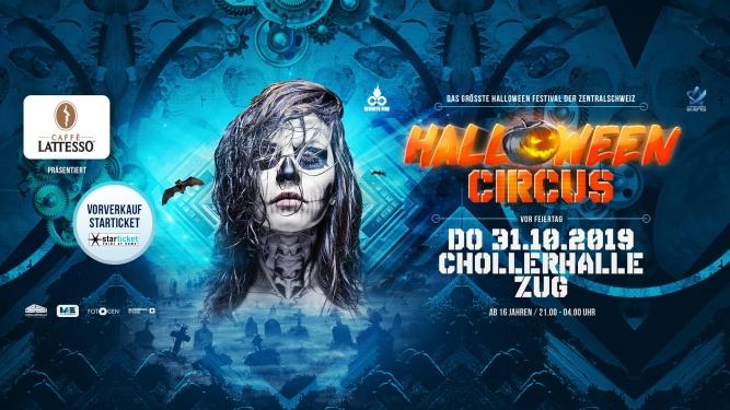 Halloween Circus 2019 Chollerhalle Zug Tickets