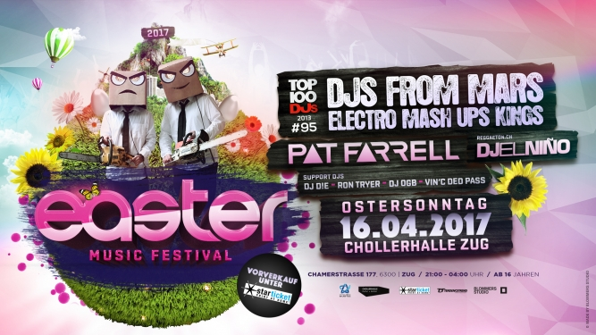 Easter Music Festival 2017 Chollerhalle Zug Tickets