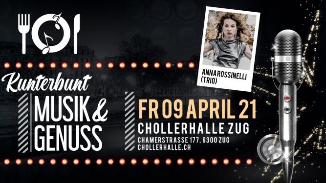 KUNTERBUNT mit Anna Rossinelli Chollerhalle Zug Tickets