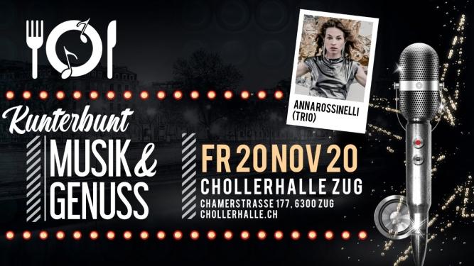 KUNTERBUNT mit Anna Rossinelli Chollerhalle Zug Billets