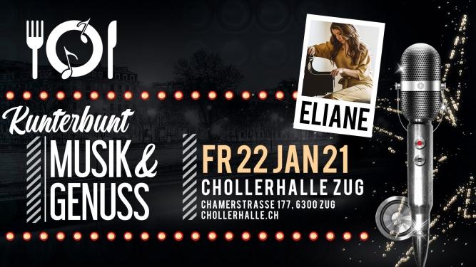 Kunterbunt mit Eliane (Duo) Chollerhalle Zug Tickets