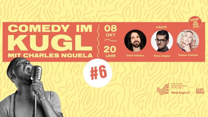Comedy im KUGL #6 KUGL St.Gallen Biglietti