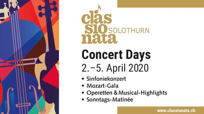 Classionata Concert Days Konzertsaal Solothurn Tickets