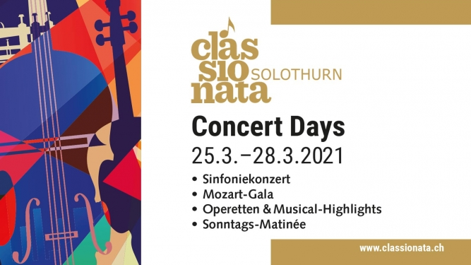 Classionata Concert Days Konzertsaal Solothurn Tickets