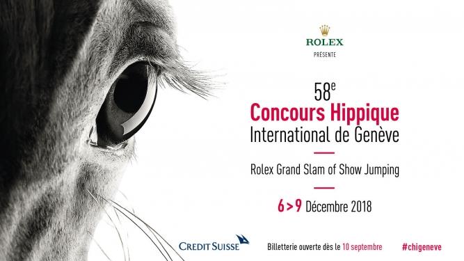 58e Concours Hippique International de Genève Palexpo Grand-Saconnex Billets