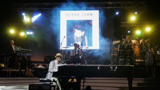 Elton John performed by the Elton Show Hotel InterContinental Davos Dorf Tickets