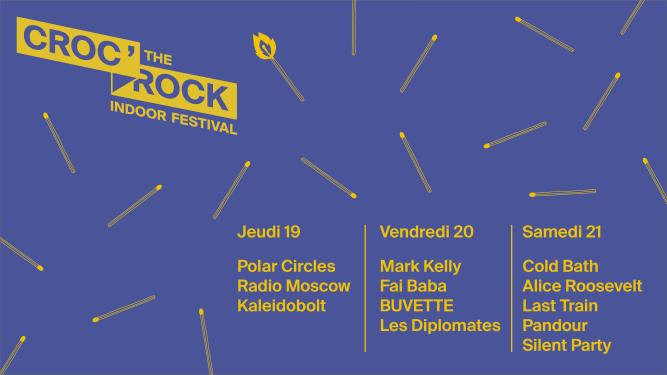 Croc' the Rock Festival Salle de l'Étang Etagnières (VD) Billets