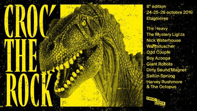 Croc' the Rock Festival 2019 Salle de l'Étang Etagnières (VD) Tickets