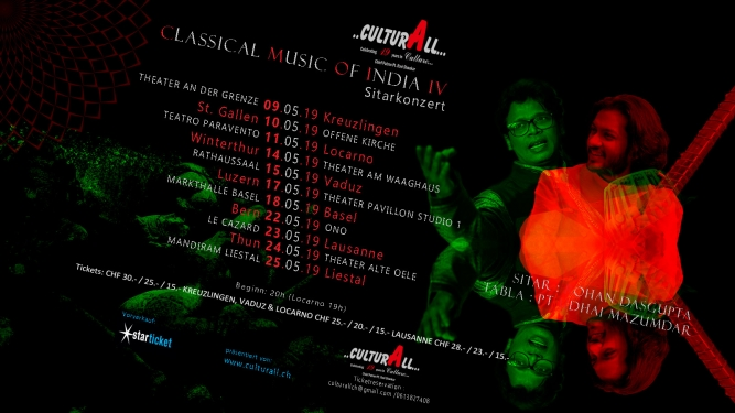 Classical Music of India IV - Sitarkonzert Diverse Locations Diverse Orte Tickets