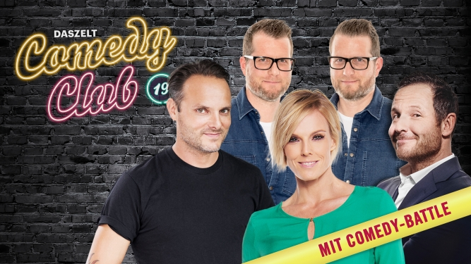 Comedy Club 19 DAS ZELT Bern Tickets