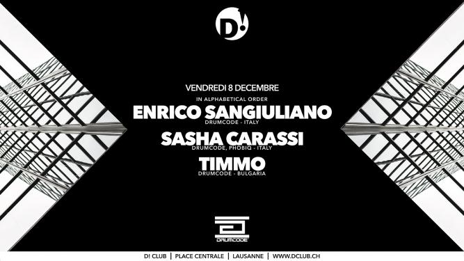 Enrico Sangiuliano D! Club Lausanne Biglietti