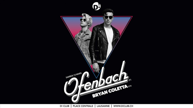 Ofenbach (F) D! Club Lausanne Tickets
