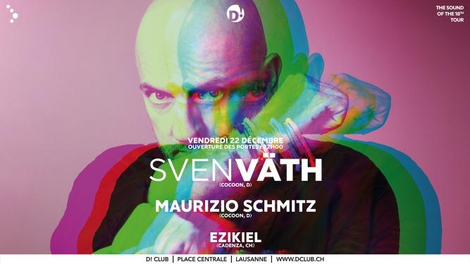 Sven Väth D! Club Lausanne Tickets