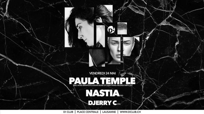Paula Temple + Nastia D! Club Lausanne Tickets