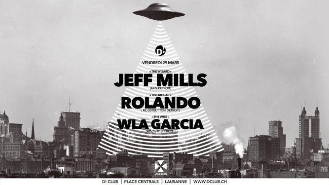 Jeff Mills + Rolando D! Club Lausanne Tickets