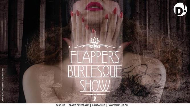Flappers Burlesque Show D! Club Lausanne Tickets