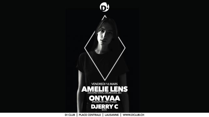 Amelie Lens + Onyvaa D! Club Lausanne Billets
