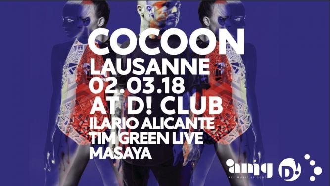Cocoon Night in Lausanne D! Club Lausanne Biglietti