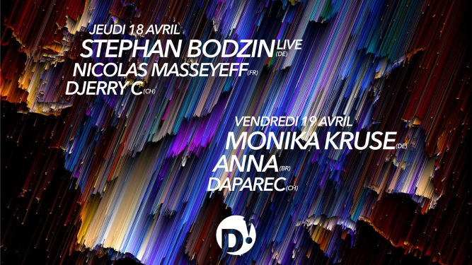 Passe Stephan Bodzin + Monika Kruse D! Club Lausanne Tickets