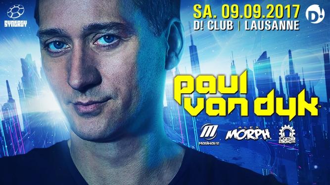 Paul van Dyk D! Club Lausanne Billets